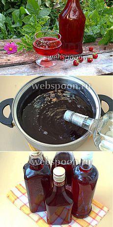 Ликёр из малины рецепт с фото, как приготовить на Webspoon.ru