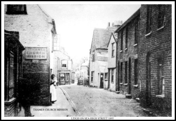 High Street, Old Leigh, Essex 1895