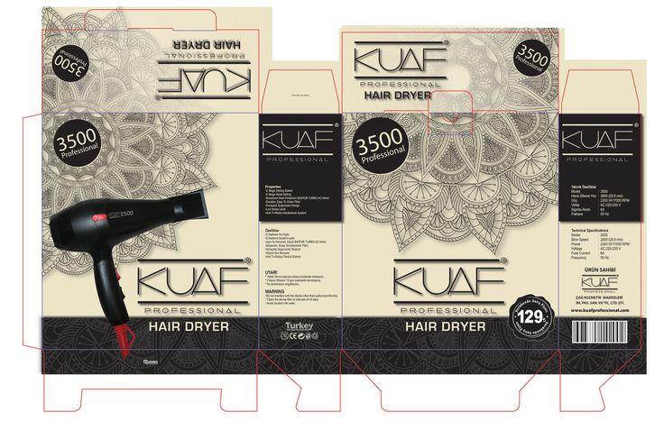 KUAF PROFESSIONAL HAIR DRYER