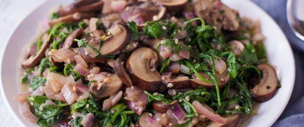 Sauteed Arugula Rocket Recipe - Genius Kitchen