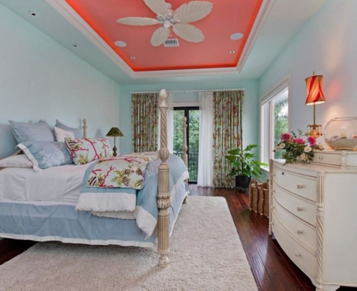 Bedroom Feminine Ceiling Design With Cute Ceiling Fan For Teen Bedroom  Ideas The Best