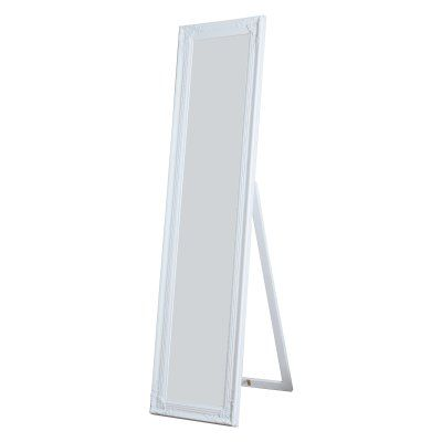 Milton Green Stars Cecilia Full Length Mirror - 15.75W x 63H in. - 7057-WHITE
