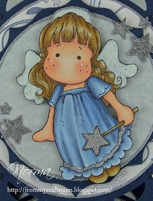 From My Craft Room: Angel Tilda in Blue - Magnolia-licious Challenge