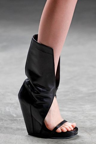 Rick Owens shoes -Alex Wang & Rick Owens are cut from the same cloth don't you think?