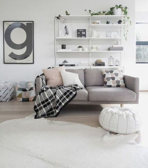 ComfyDwelling.com » Blog Archive » 70 Cozy Scandinavian Living Room Designs