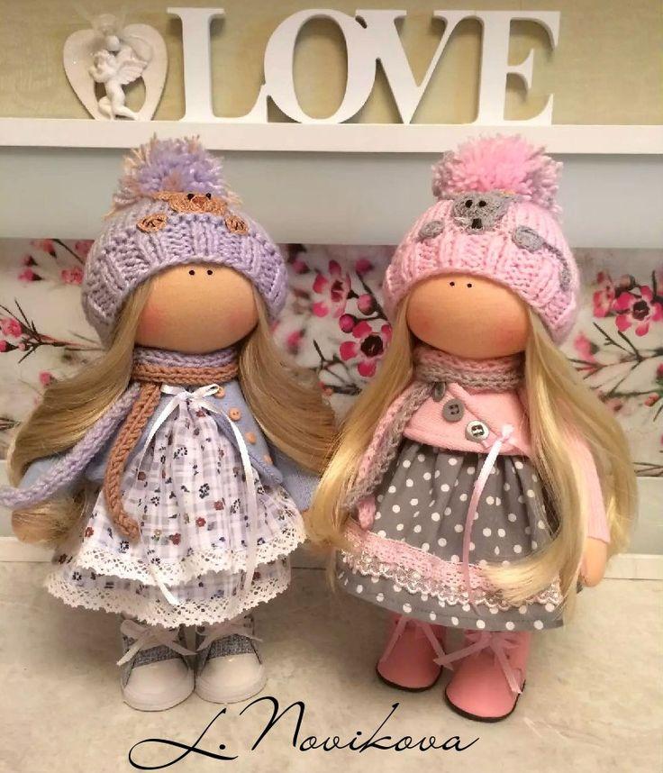 Интерьерные куклы для души.