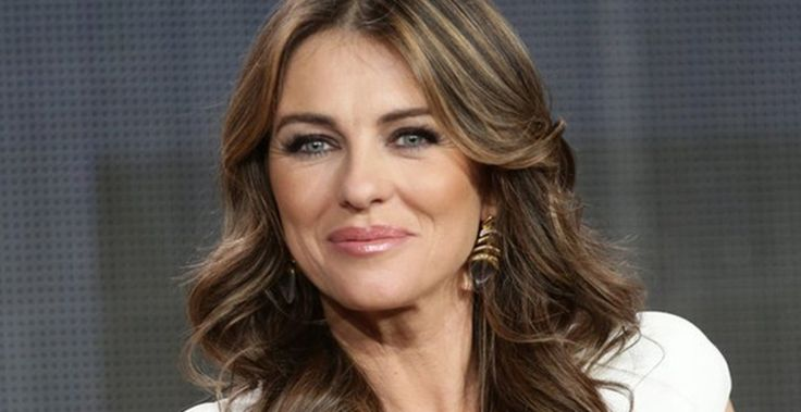 Elizabeth Hurley guest on Meredith Vieira show 3-16-15