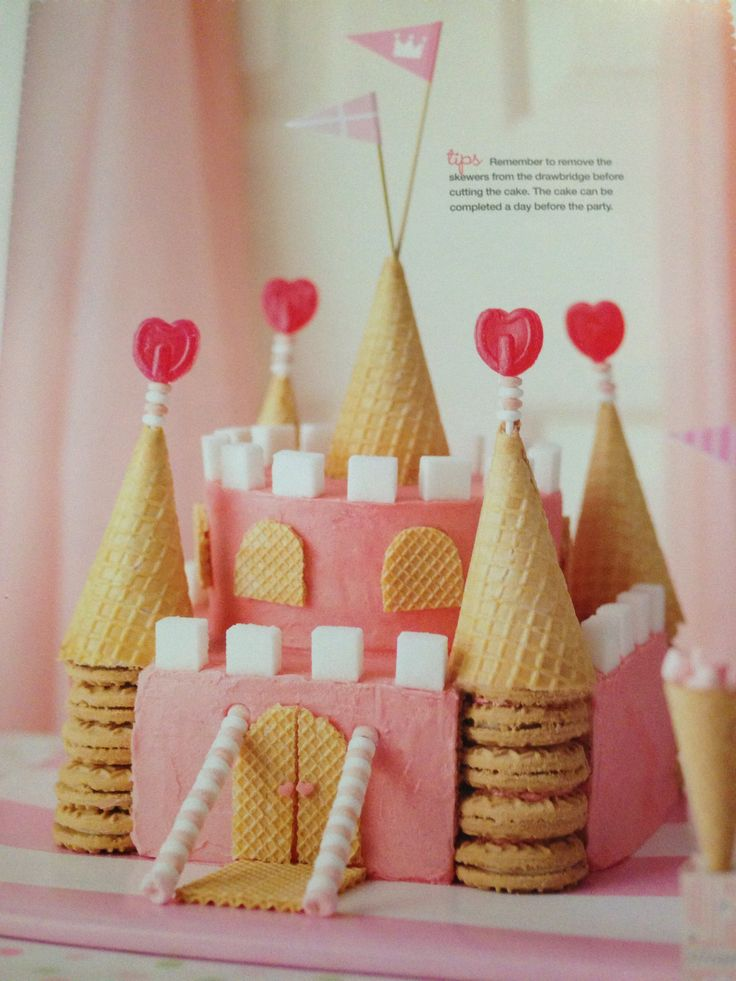 Castle for a Princess: Australian women's weekly more kids cakes cook book