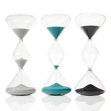 gray one for office Z Gallerie - Triple Hourglass