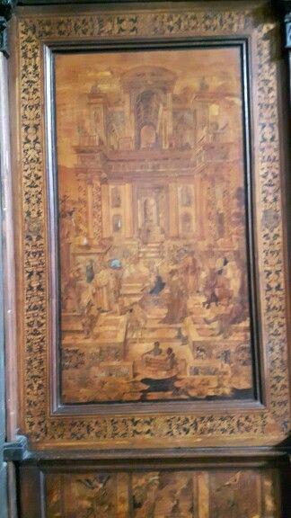Coro Intarsiato.  Frate Domenico Zambelli.  1528-1555