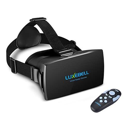 Luxebell® 3D VR (Realidad Virtual) Gafas de Realidad Virtual con Auriculares, Control Remoto Bluetooth - https://realidadvirtual360vr.com/producto/luxebell-3d-vr-gafas-de-realidad-virtual-con-auriculares-control-remoto-bluetooth-nfc-y-correa-ajustable-para-iphone-4s-5-5s-y-4-7-6-inches-smartphone-iphone-6-samsung-negro/ #RealidadVirtual #VirtualReaity #VR #360 #RealidadVirtualInmersiva