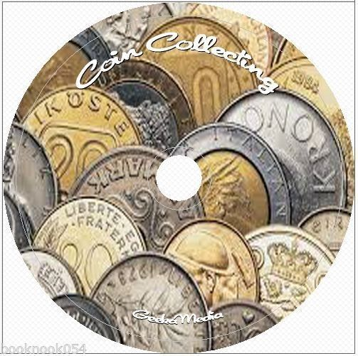 Coin Collecting 60 Books cd dvd Value Authenticate Rare Mint Coins Value How to
