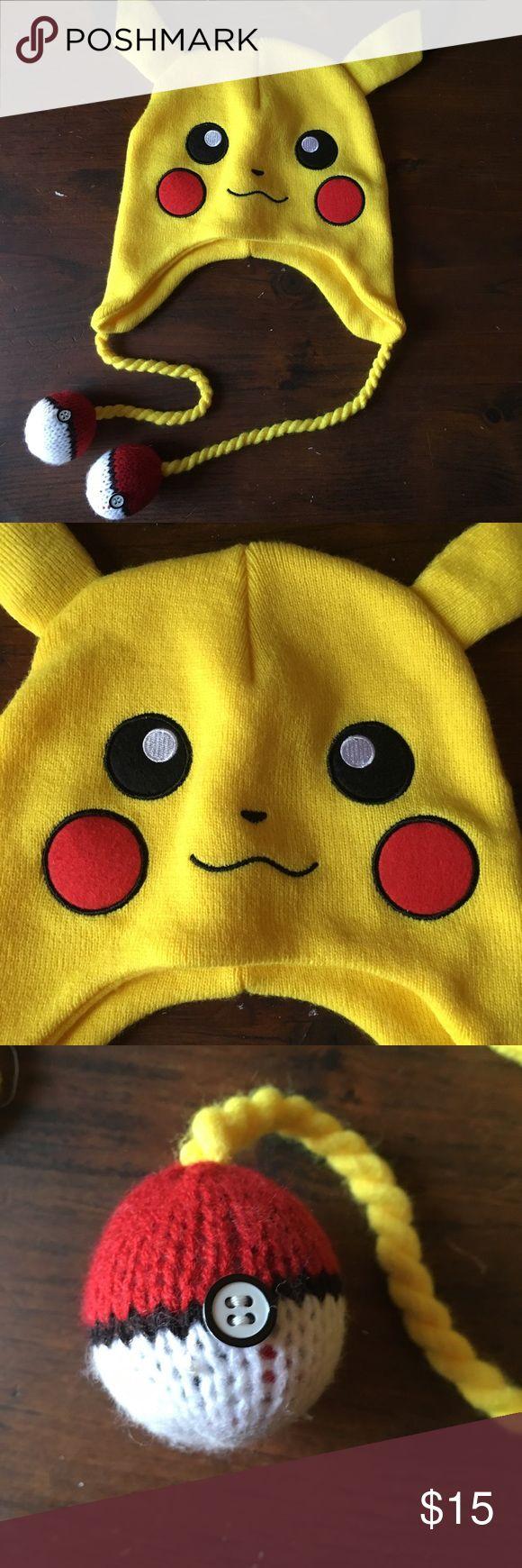 Pokémon Knit Hat Cut Pokémon Knit Hat in Excellent Condition Accessories Hats