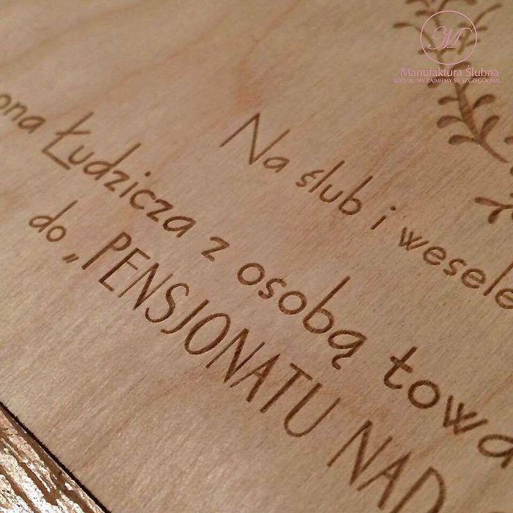 #wedding #day #paper #decorations #invitations #style #boho #eco #wood #stationery #bride #groom #wesele #ślub #zaproszenia #styl #drewno #papeteria #pannamłoda #panmłody