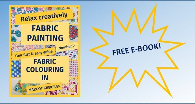 Are you looking for a new and easy way to relax? - FABRIC COLOURING IN could be YOUR THING!