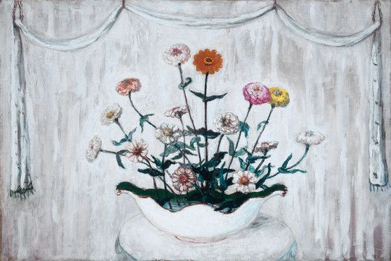 Florine Stettheimer Zinnias | LACMA Collections