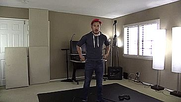basicly my dancing skills, lol- Markiplier