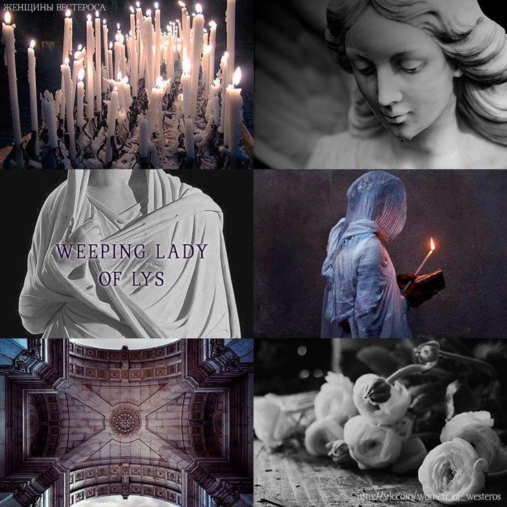 Weeping lady of Lys (ASOIAF)