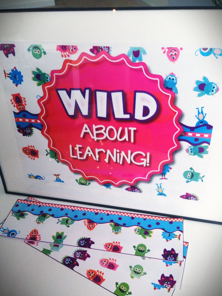 Monster Bulletin Board Set FREEBIE and Other