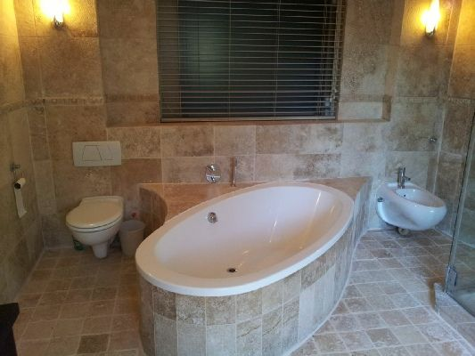 How stunning is this bathroom?  Click visit site to get in touch! - RenoFix, Cape Town