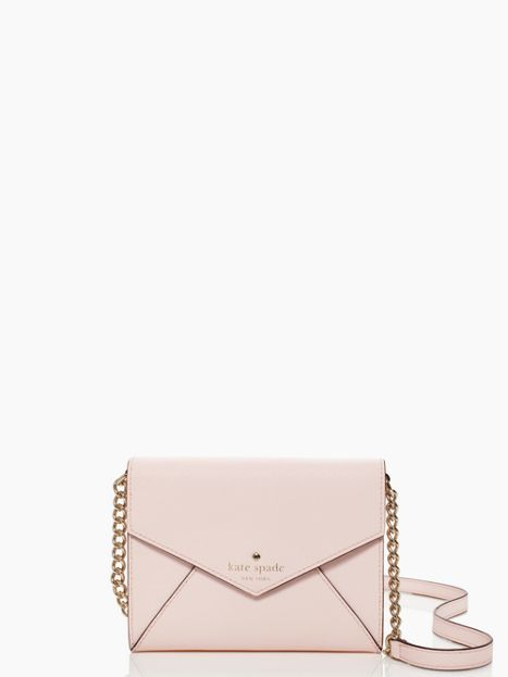 Cute Kate Spade envelope style bag- also comes in black and light blue.