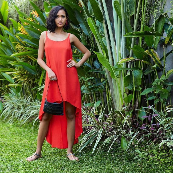 This is our red Coral 'Shanana' Dress and black leather zippers bag available in all Ubud shops now and soon online! Stay tuned...#shanana #coral #dress #zip #zippers #leatherbag #SOAgypsy #gypsy #gypsydress #dress #feminine #sexy #gypsystyle #asymmetrical