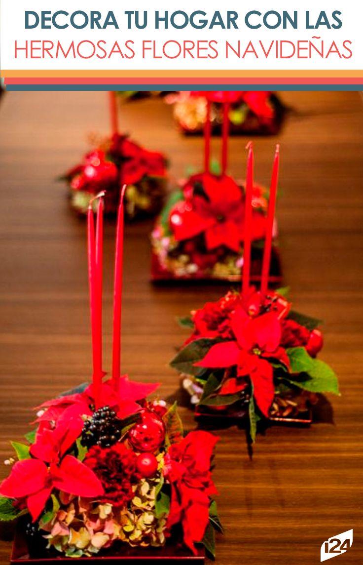 Con estas ideas lograrás un hermoso ambiente navideño #navidad #decoración #ideas #christmas