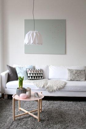 Umschwung.....neue Farben im Wohnzimmer living room Pinterest