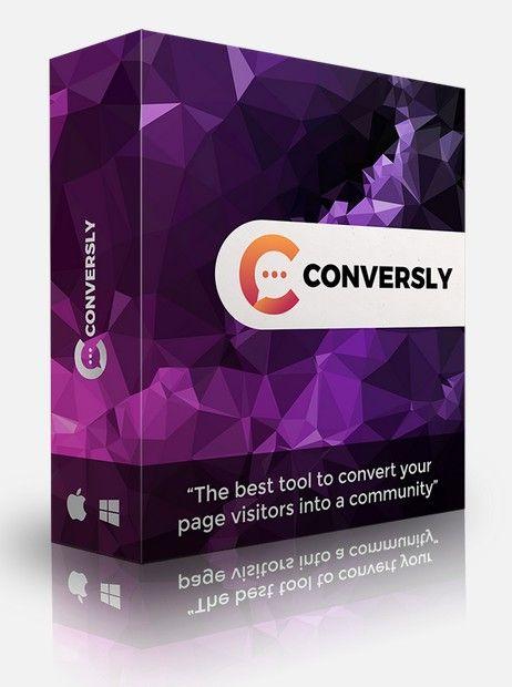 Conversly Chat Widget Software by Karthik Ramani