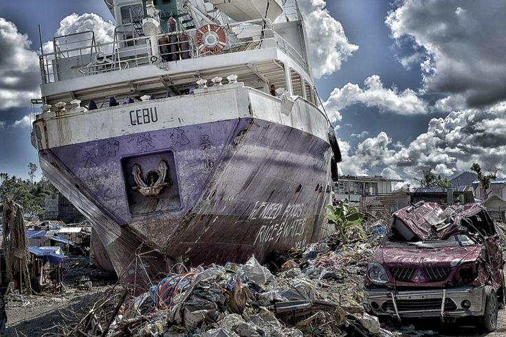 Tablocan, after the strongest Typhoon Yolanda 2013. (Philippines)