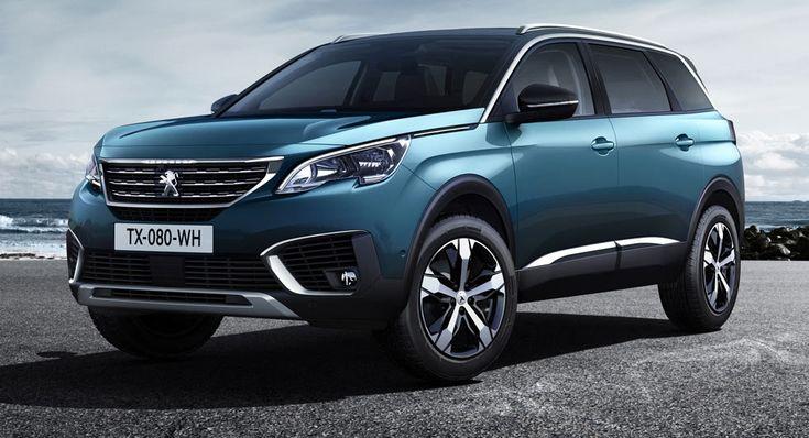 Peugeot estrena All-New 5008 Como un SUV de 7 plazas