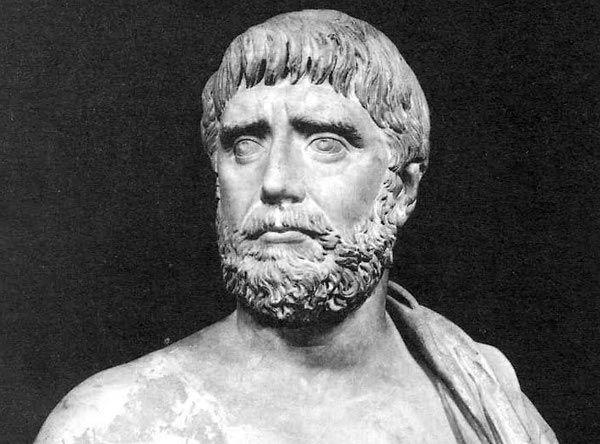 Tales de Mileto (624 a.C.-548 a.C.) Filósofo y matemático griego. Frente a las explicaciones de la realidad de carácter mítico y religioso, este filósofo nos ofrece por primera vez una explicación basada en la razón.