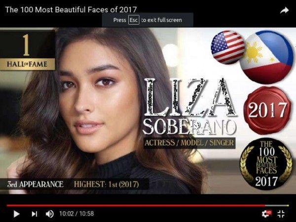 Beritajowo Com X2f Jakarta Liza Soberano Memuncaki Daftar 100 Perempuan Tercantik 2017 Versi Tc Chandler Penobatan Liza Soberano Aktris Kecantikan Dunia