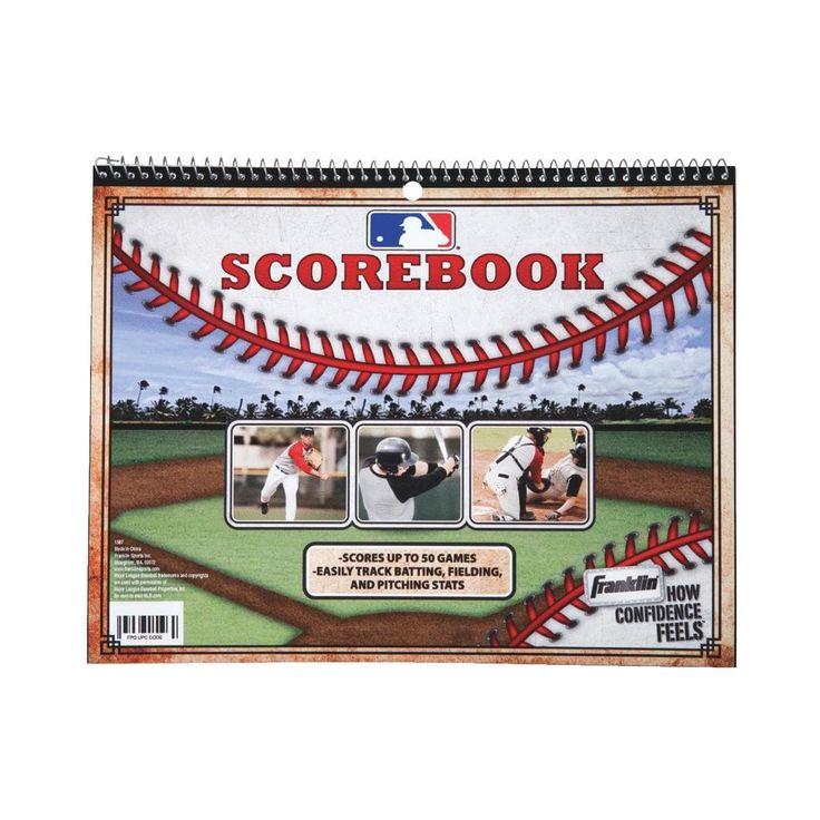 Franklin Baseball Score Book