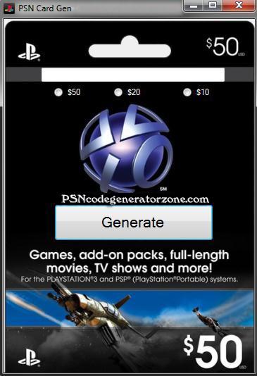 Httpplaystationcardgeneratorcom Free Psn Codes t
