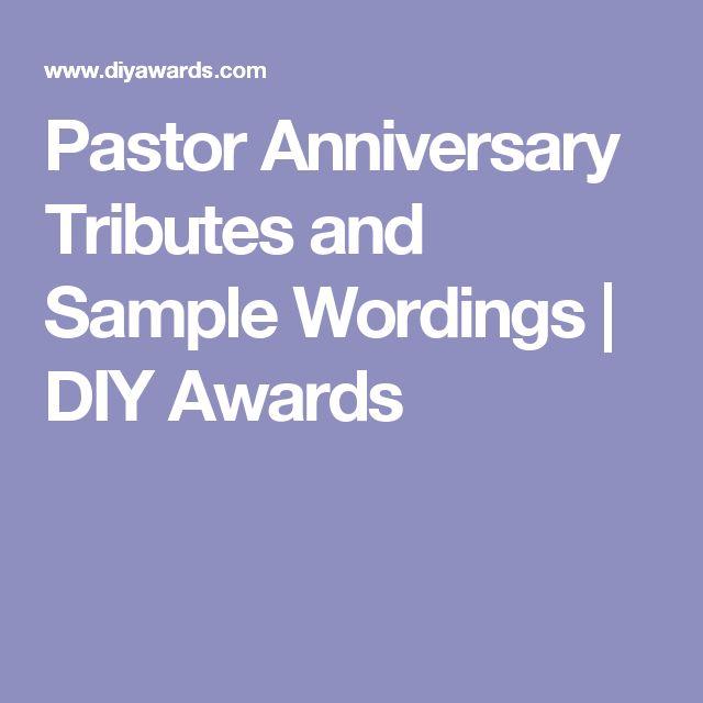 best 25  pastor anniversary ideas on pinterest
