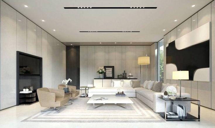 salon design en 70 id es supers d 39 am nagement et d coration piece de vie pinterest faux. Black Bedroom Furniture Sets. Home Design Ideas