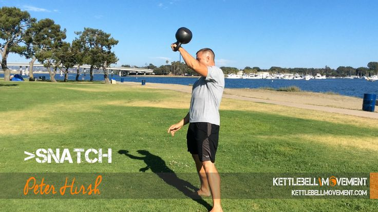The Kettlebell Snatch is probably the most mentally and physically rewarding fitness lift you can do for a total body workout!