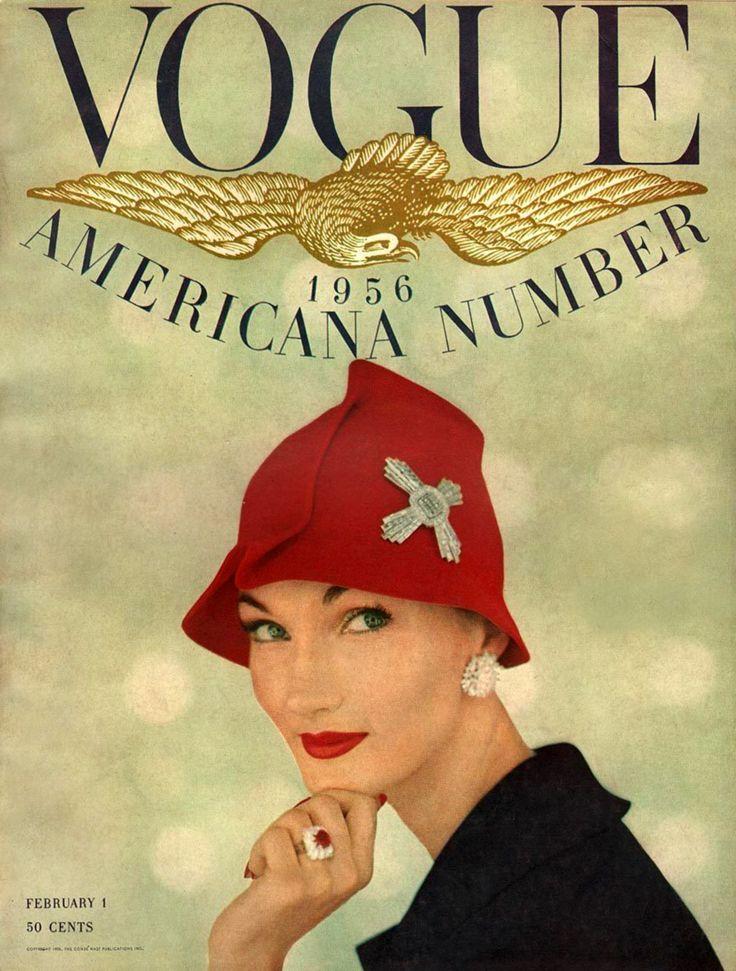 modelevelyntripp: Vogue February 1956 - Evelyn Tripp Conde Nast