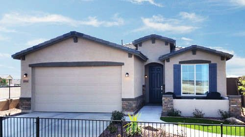 NEW 1,716 SQ FT ONLY $206,900! It's the perfect floor plan with 3 bdr's, 2 bth's, and a study or 4th brd option. Open great room with welcoming foyer, island kitchen, cozy breakfast nook, and split master. $0 down loan programs, and $8,000 in incentives are available. Call The Pete Dijkstra Team Today! 480-212-4626 PIN #2048   *All new homes are subject to price adjustments and incentive reductions until time of accepted contract. Homes pictured may be the actual model home offered by the…