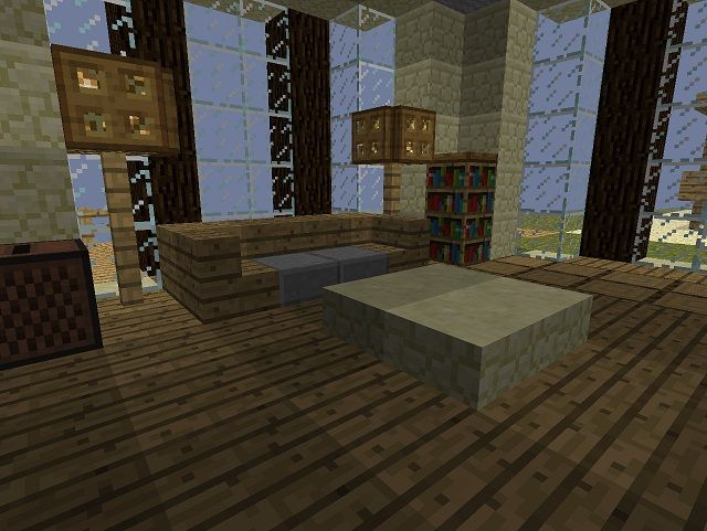 Minecraft Creation Living Room