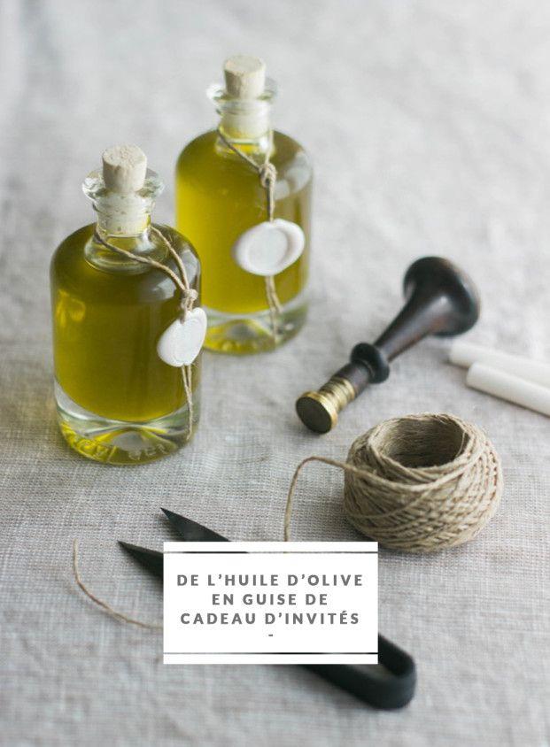 DiY - Offrir de l'huile d'olive à ses invités le jour de son mariage - La mariée aux pieds nus