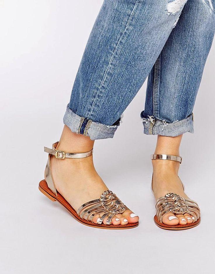 Sandalias planas 2015 | Fantásticas sandalias de moda para mujeres
