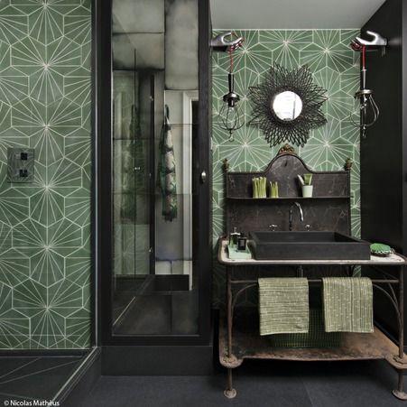 Une salle de bains verte : Hubert Zandberg