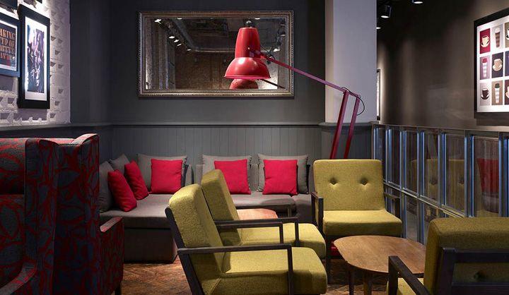 Costa Coffee by Stiff + Trevillion Architects, London store designCoffee London, Commercials Design, Coffe London, Bar Design, Coffee Bar, Colors Schemes, Costa Coffee, Cafes Interiors, Room Design