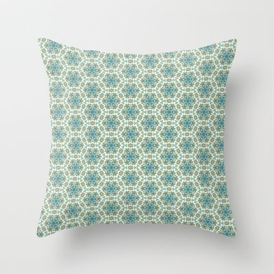Arabian dream Throw Pillow by lamottedesign - $20.00