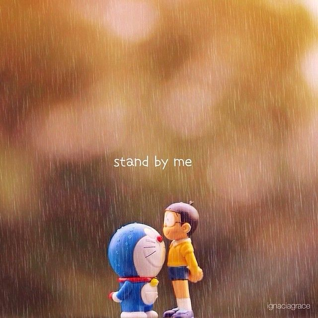 Instagram media ignacia_grace - STAND BY ME #doraemon edited with DELUXE COLORS…