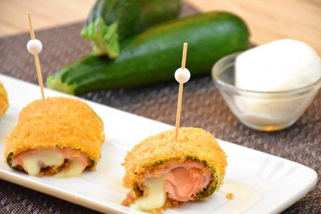 Involtini di zucchine filanti - Fidelity Cucina