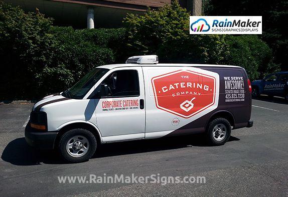 RainMaker-Signs-Fleet-Graphics-Catering-Company-Kirkland Fleet Graphics by RainMaker Signs www.RainMakerSigns.com
