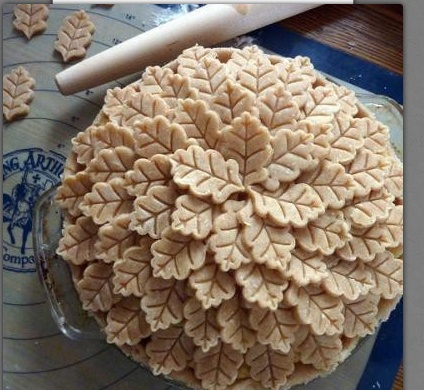 14 of the Most Creative Pie Crust Designs @rubylanecom
